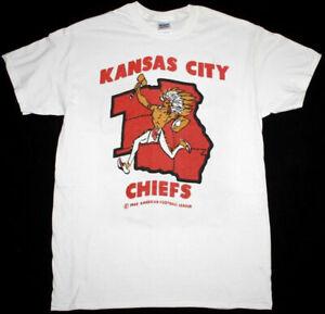Kansas City Chiefs NFL Football T shirt White Unisex Cotton Reprint Vintage HOT