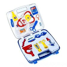 14pc Childrens Medical Toys Play Set Doctor Nurse Role Playing Kit Carry Case