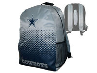 Dallas Cowboys Fan Rucksack grau NFL Backpack Tasche Schultasche 45x35x15cm