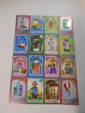 16 LEGO Sainsbury Create The World Minifig Trading Game Cards EXPLORER FARMER+++