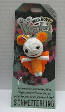 Watchover Voodoo Puppe Schmetterling -Schlüsselanhänger-Glücksbringer-neu + OVP!
