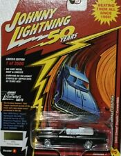 $RARE$JOHNNY LIGHTNING 50 YEARS SPECIAL  69 CHEVY IMPALA  CHASE RACE EDGE WHEELS