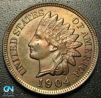 1904 Indian Head Cent Penny  --  MAKE US AN OFFER!  #R9737