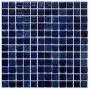 Glass mosaic tiles for swimming pools - MYKONOS - Solid Finish