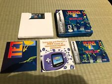 Tetris Worlds (Nintendo Game Boy Advance, 2001) - Complete