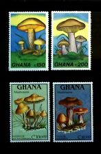 SELLOS SETAS GHANA 1989 1026/29 4v.