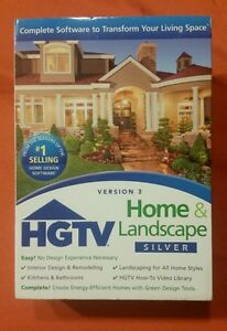 Nova Development HGTV Home & Landscape Silver Software Version 3