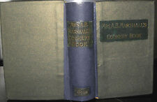 ** Mrs.A.B.Marshall's Cookery Book. Revised Edition.- C1920- illustrated Rebound