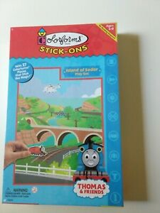 Thomas the Train & Friends Play Set Island of Sodor Colorforms Stick-Ons