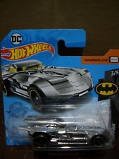 HOT WHEELS VERY RARE SILVER BATMOBILE SEALED IN MINT CONDITION.
