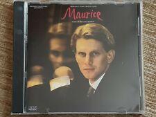 MAURICE CD SOUNDTRACK  - RARE & OOP - RICHARD ROBBINS - RCA 1986