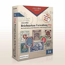 Stecotec Briefmarken-Verwaltung Pro: Das Programm für Philatelisten - Software