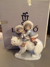 Lladro Eskimo Riders Mint Condition Boxed  5353 Lots Listed