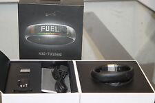 Nike+ Fuel Band Size S/P in Clear Black