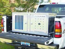 Owens Dog Box Double Compartment Knockdown K9 Transport Series Diamond Tread