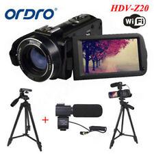 3'' LCD HD 1080P 24MP 16X Digital Zoom WiFi Video Camcorder DV Camera Mic+Tripod