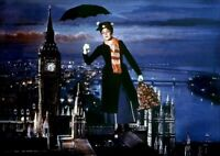 A Julie Andrews Mary Poppins With Umbrella 8x10 Picture Celebrity Print