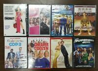 Lot of 8 New, Sealed DVDs 9 Movies Comedies  Miss Congeniality  Pretty In Pink