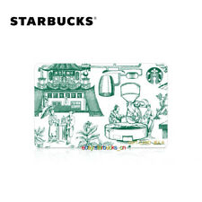 Starbucks Card 2020 China Chinese New Year Blue and Green porcelain Pin Intact