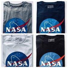 New NASA Space Symbol Astronaut Logo Short Sleeve Crew Neck Unisex T-Shirt Tee