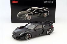 Porsche Cayman gt4 Noir métallisé 1:18 schuco