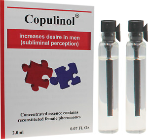 COPULINOL2.0ml+2.0ml 100% Phermone for Women Attract Men Infused Sex for Her