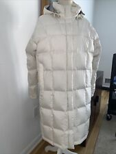 North Face 600 Series Jacket Parka Trench Coat Long Puffer Goose Down Womens XL