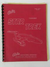 Bally Stark Trek Pinball Manual