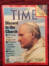 POPE JOHN PAUL II TIME MAGAZINE FEBRUARY  4 1985 VERY GOOD