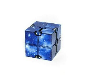 Galaxy Blue Infinity Cube Fidget ~ AU Seller ~ Fast Delivery