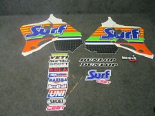 Honda CR125 1993-1997 CR250 1992-1996 Surf Racing graphics + seat cover GR1748
