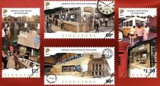 Singapore stamps - 2017 General Post office GPO 4v Set MNH postal, bus