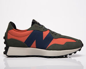 New Balance 327 Men's Dark Blaze Natural Indigo Casual Lifestyle Sneakers Shoes