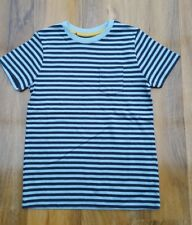 Mini Boden Boys Fabulous soft cotton striped blue Top Size 3-4 years. Brand new.