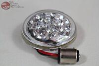 "Harley Davidson Turn Direction Signal Lens 15 LED Clear 1157 Plug Custom 2 3/8"""