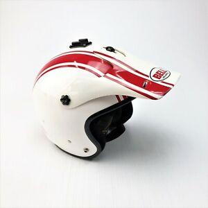 Bell Tracker M2000 red stripe motocross helmet size small 54-56cm