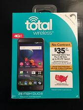 "Neue total Wireless ZTE Max Duo 6"" - Prepaid Handy 16gb"