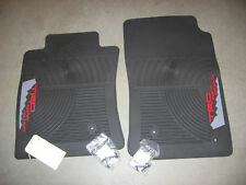 TOYOTA TACOMA 08-11 TRD FACTORY ALL WEATHER FLOOR MATS