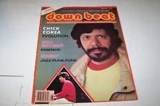 JUNE 1981  DOWN BEAT jazz music magazine CHICK COREA
