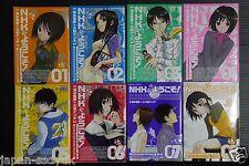 JAPAN manga: Welcome to the N.H.K. / NHK ni Yokoso! vol.1~8 Complete set