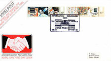 8 SEPTEMBER 1982 INFORMATION TECHNOLOGY ROYAL MAIL FIRST DAY COVER WTC LONDON E1