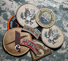 US EMBASSY BAGHDAD/KABUL STATE DEPT WPS CONTRACTOR ELITE TEAM 9-VELCRO-SSI SET