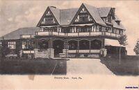 Postcard Country Club York PA
