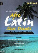 F.Bramböck: World Music. Afro-Latin. Sax Duets.