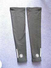 pair Endura Leg Warmers  L/XL black, Pro Thermo, zipped ankle, reflective strip