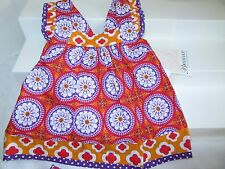 Bonnie Baby Girl 2 Piece Bohemian Sundress & Bloomers 6 -9 Month NWT