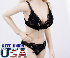 "1/6 Sexy Lace Lingeries Bra Panties Set For 12"" Phicen Hot Toys Female Body USA"