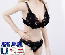 "1/6 Lace Lingeries Bra Panties Set For 12"" Phicen Hot Toys Female Figure U.S.A."