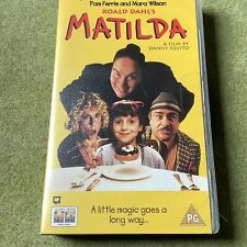 Matilda VHS Video (Mint Condition: Unopened And Still Sealed)