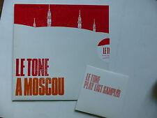 "CD Promo 11 titres LE TONE A Moscou NAIVE NV 4236 3  Pochette format 25 cms 10"""